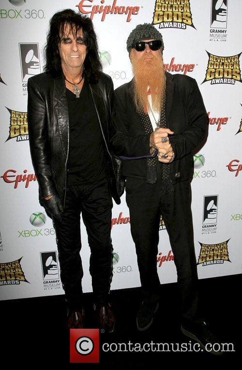 Alice Cooper and Billy Gibbons 5