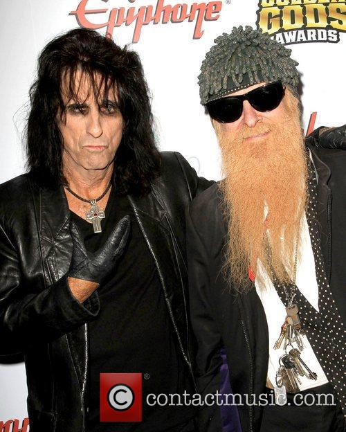Alice Cooper and Billy Gibbons 1