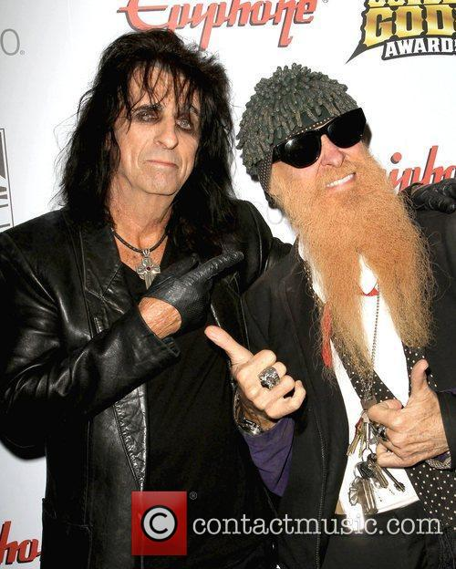 Alice Cooper and Billy Gibbons 6