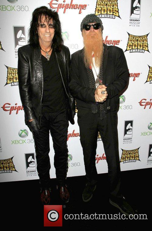 Alice Cooper and Billy Gibbons 7