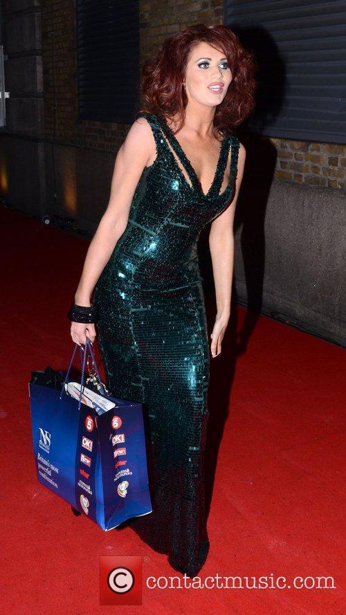 Amy Childs,  at Richard Desmond's Birthday. London,...