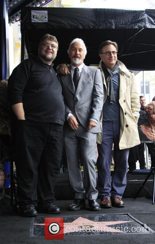 Guillermo, Toro, Andy Garcia, American, Rick Baker, Hollywood Walk and Fame 1