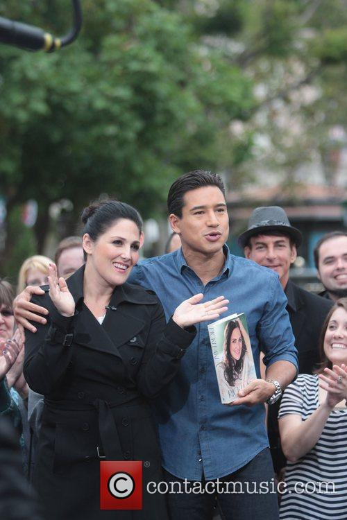 Ricki Lake and Mario Lopez  appear on...