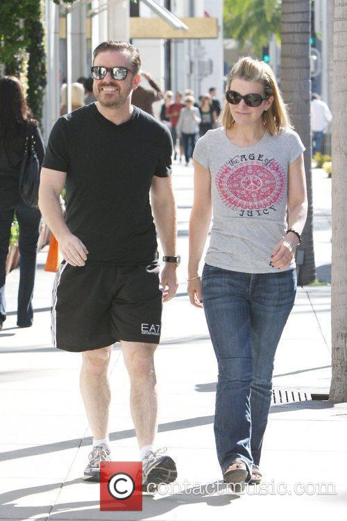 ricky gervais and partner jane fallon are 5776832