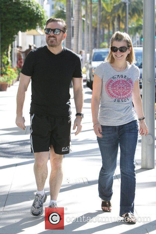 ricky gervais and partner jane fallon are 5776840
