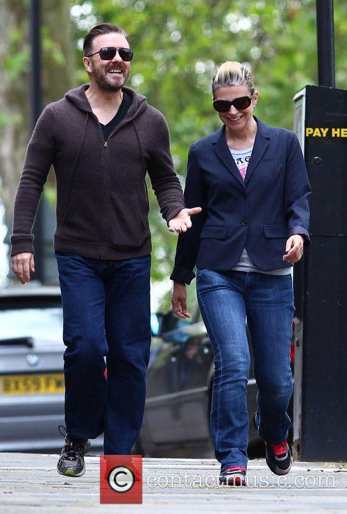 Taking a stroll together in North London