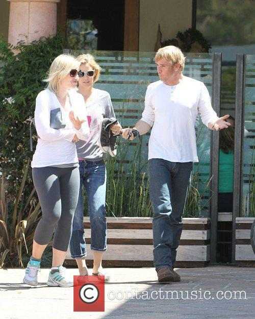 Ricky Schroeder leaving Coogies Cafe in Malibu.
