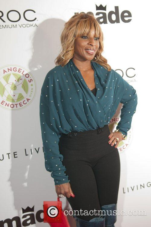 Mary J. Blige Birthday party for Rico Love...