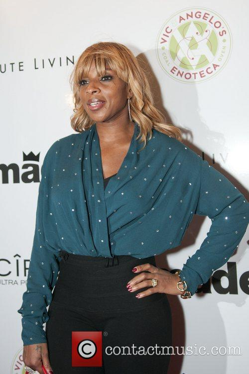 Mary J. Blige  Birthday party for Rico...