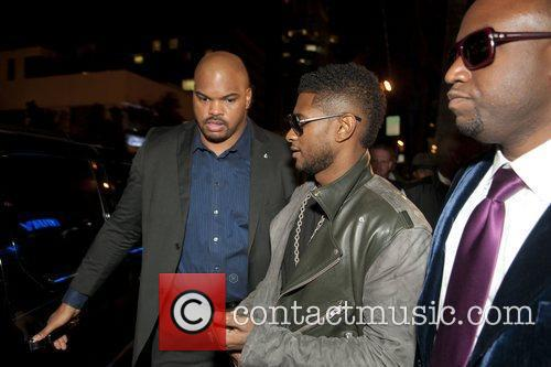 Usher and Rico Love Birthday party for Rico...