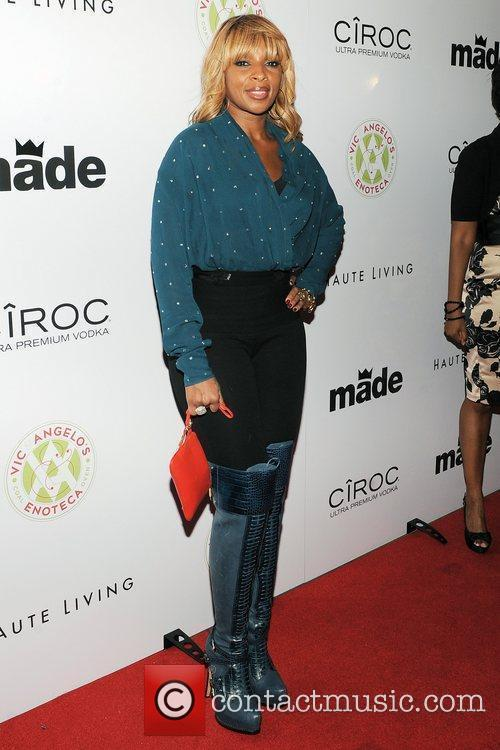 Mary J Blige  Birthday party for Rico...