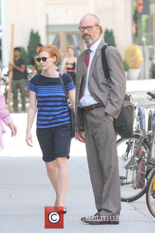 Jessica Chastain and William Hurt 2