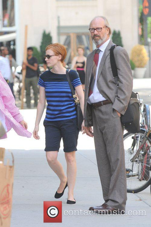 Jessica Chastain and William Hurt 3