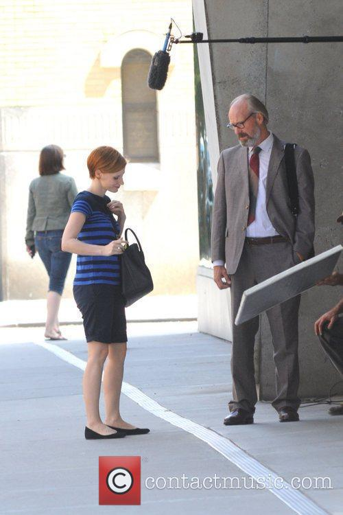 Jessica Chastain and William Hurt 4
