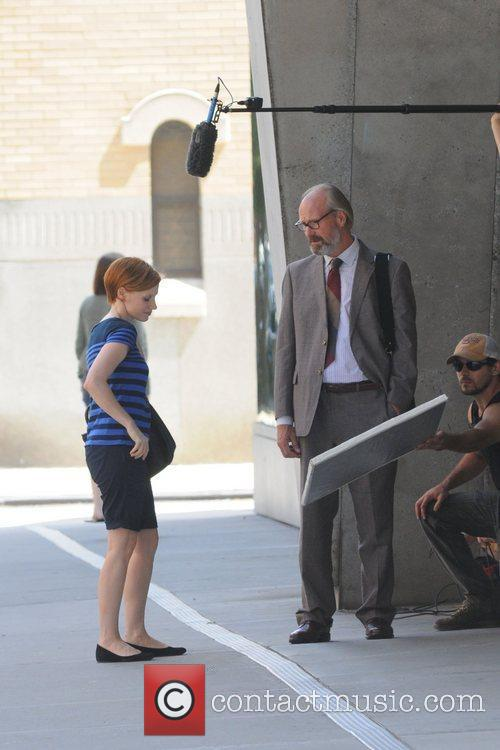 Jessica Chastain and William Hurt 5