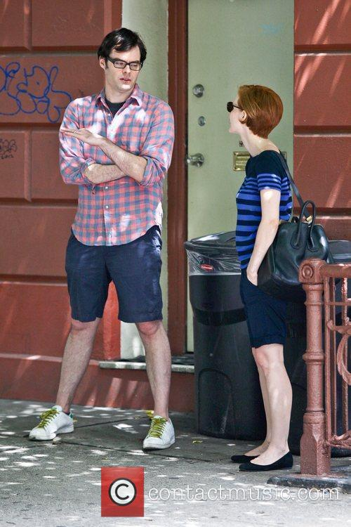 Bill Hader and Jessica Chastain 1