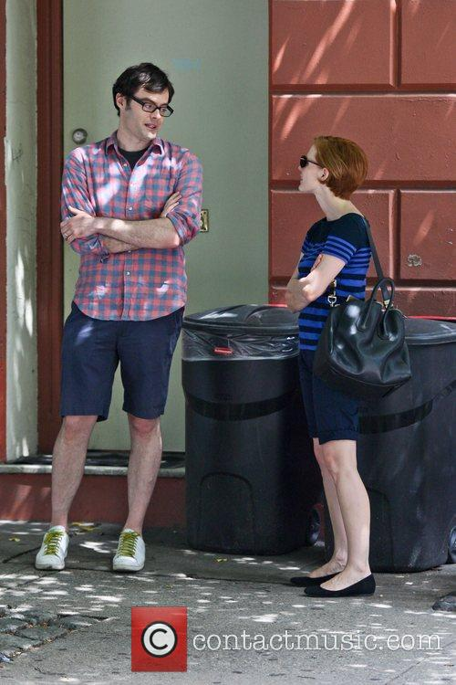 Bill Hader and Jessica Chastain 4