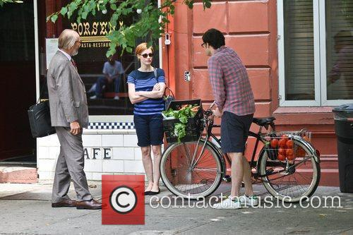 Bill Hader and Jessica Chastain 5