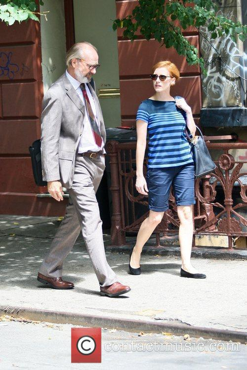 William Hurt and Jessica Chastain 2