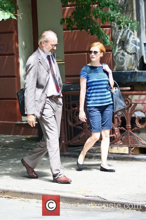 William Hurt and Jessica Chastain 3