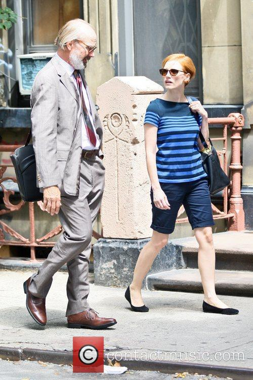 William Hurt and Jessica Chastain 5
