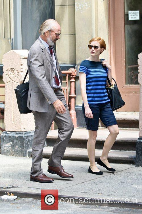 William Hurt and Jessica Chastain 6
