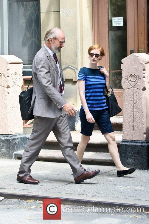 William Hurt and Jessica Chastain 7