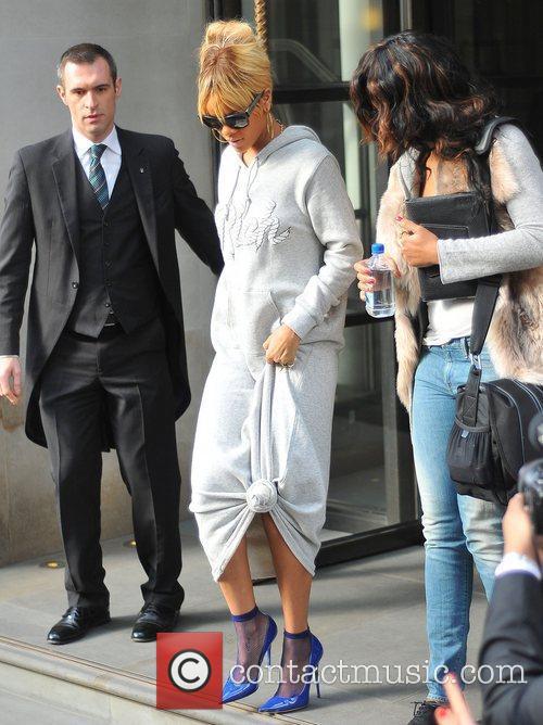 rihanna leaving her hotel london england   210212 3742950