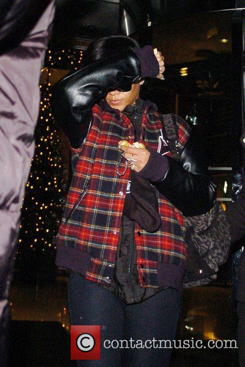 Rihanna, Park Lane, Dorchester Collection Hotel and X Factor 8