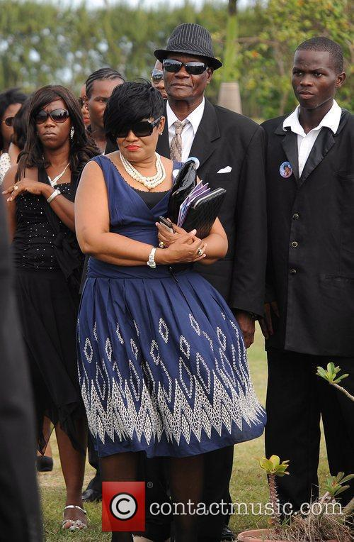 And family attend the funeral for her grandmother...