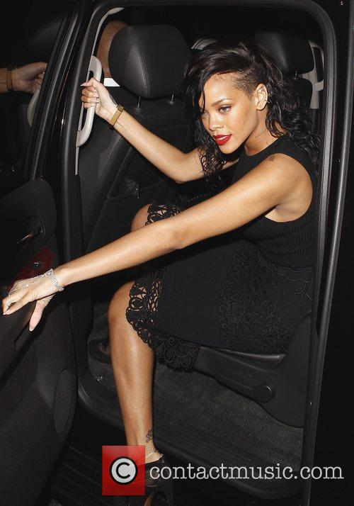 rihanna arrives at her halloween party held 4155549