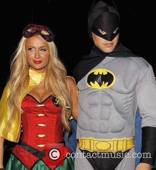 Paris Hilton, River Viiperi, Batman, Robin