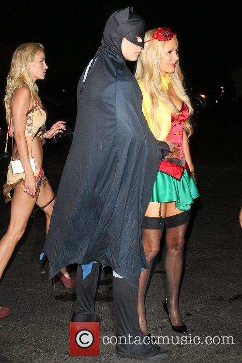 Paris Hilton and boyfriend River Viiperi arrive at...
