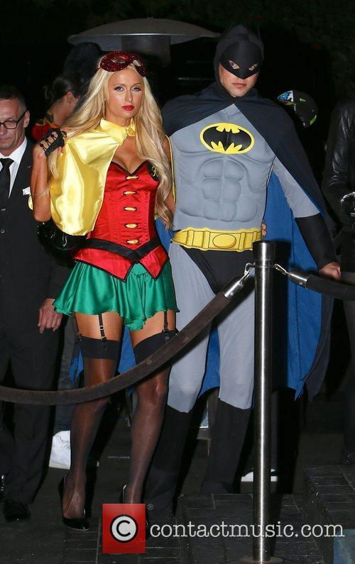Paris Hilton, River Viiperi, Batman and Robin 15