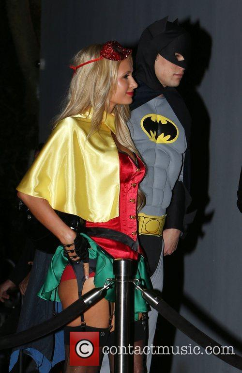 Paris Hilton, River Viiperi, Batman and Robin 16