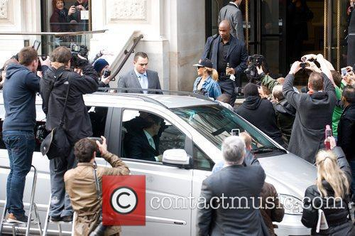 rihanna seen leaving her hotel london england   290212 3757440