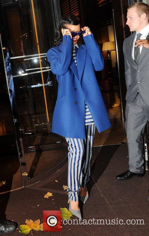 rihanna seen leaving her hotel london england 4181209