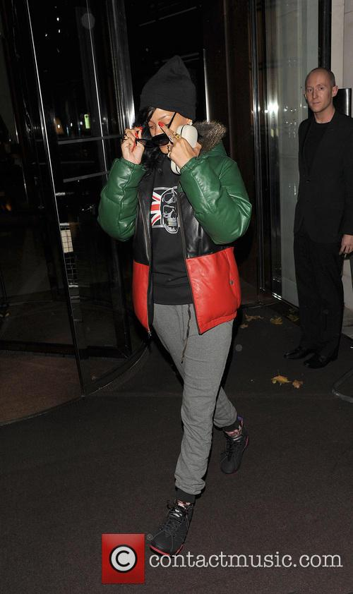 Rihanna, Stansted Airport and New York City 12
