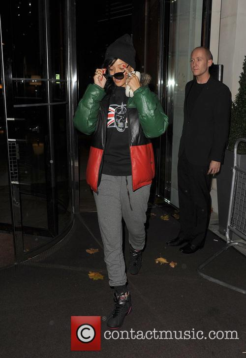 Rihanna, Stansted Airport and New York City 11
