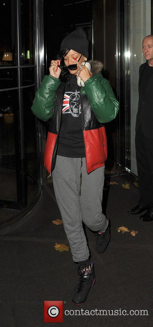 Rihanna, Stansted Airport and New York City 13