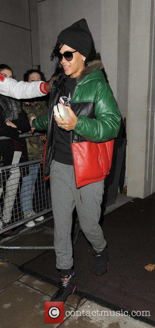 Rihanna, Stansted Airport and New York City 10