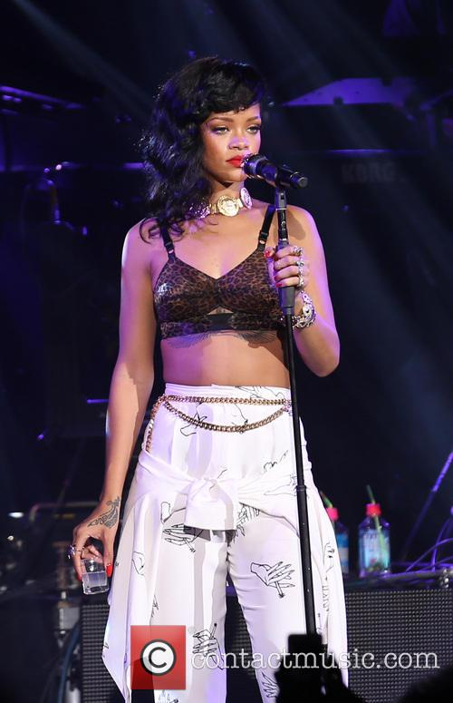 Rihanna, London and Kentish Town Forum 8