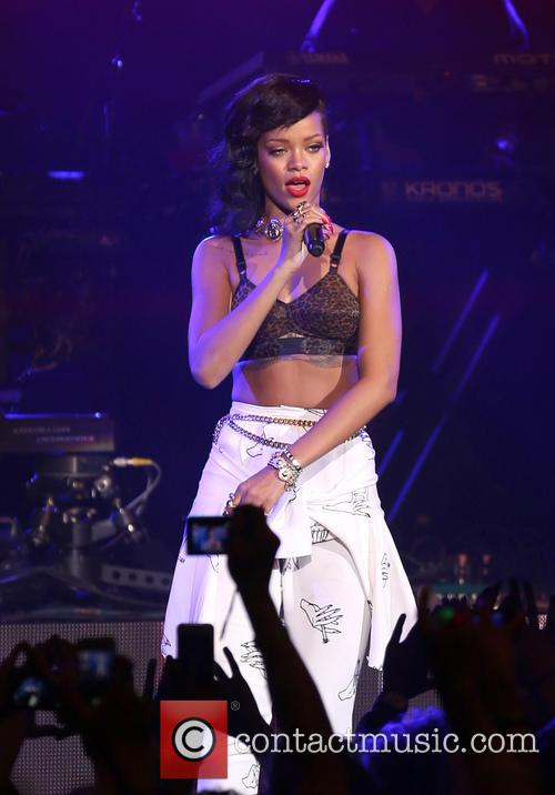 Rihanna, London and Kentish Town Forum 12