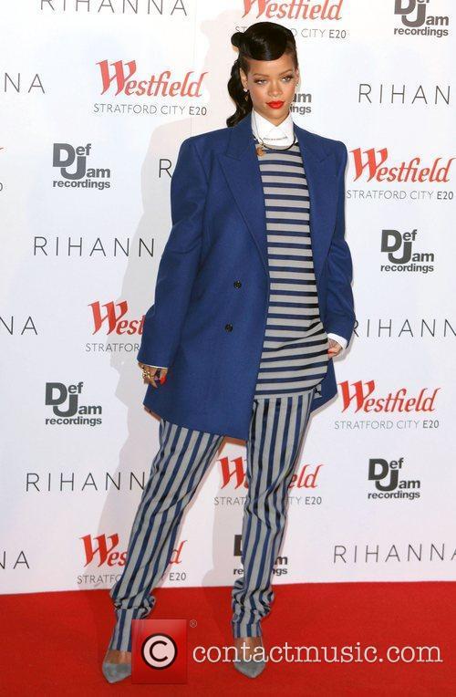 Rihanna, Christmas and Westfield Stratford 8
