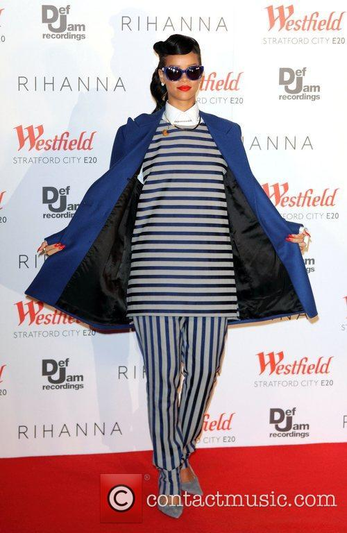 Rihanna, Christmas and Westfield Stratford 8