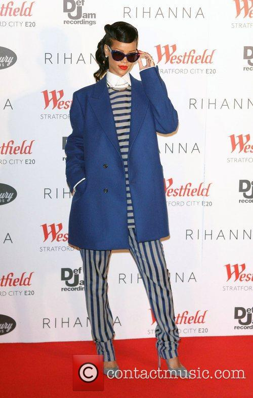Rihanna, Christmas and Westfield Stratford 9
