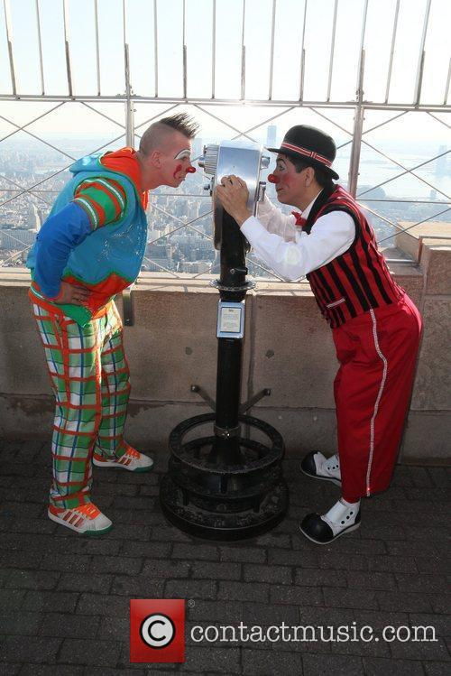 The Empire State Building hosts Ringling Brothers and...