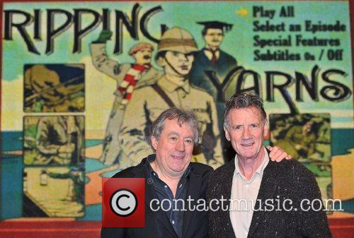 Sign copies of their new DVD, 'Ripping Yarns:...