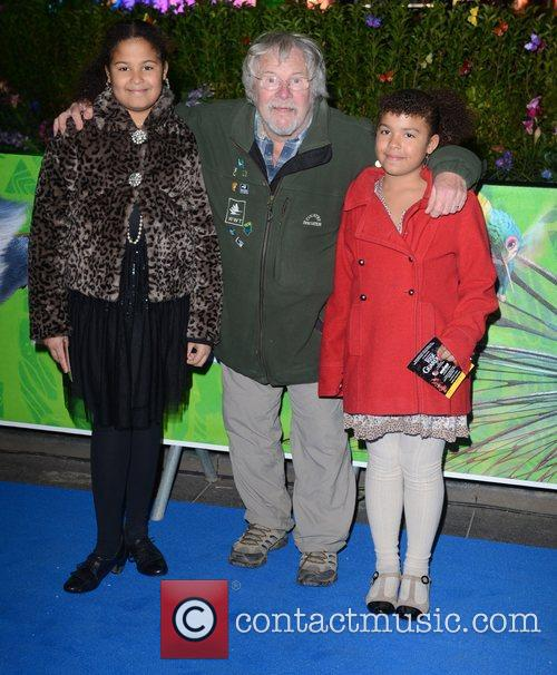 Bill Oddie UK film premiere of 'Rise of...