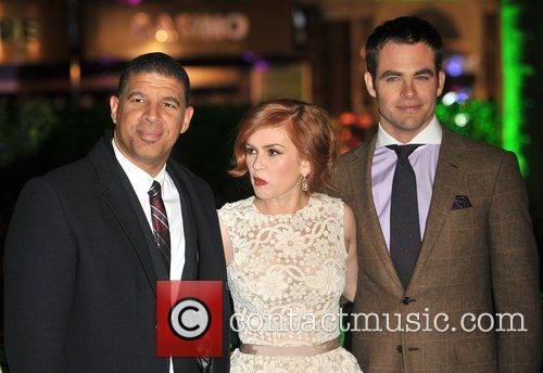 Chris Pine, Isla Fisher, Peter Ramsey, Empire Leicester Square